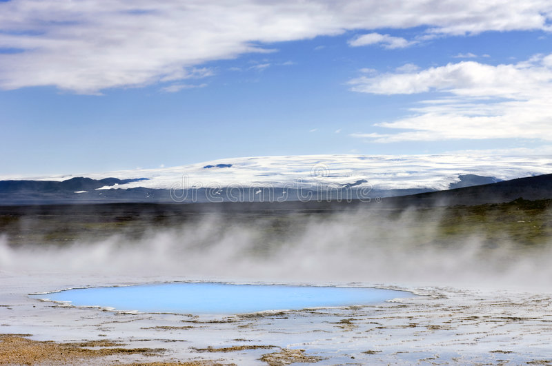 Geothermal Activity Royalty Free Stock Photos