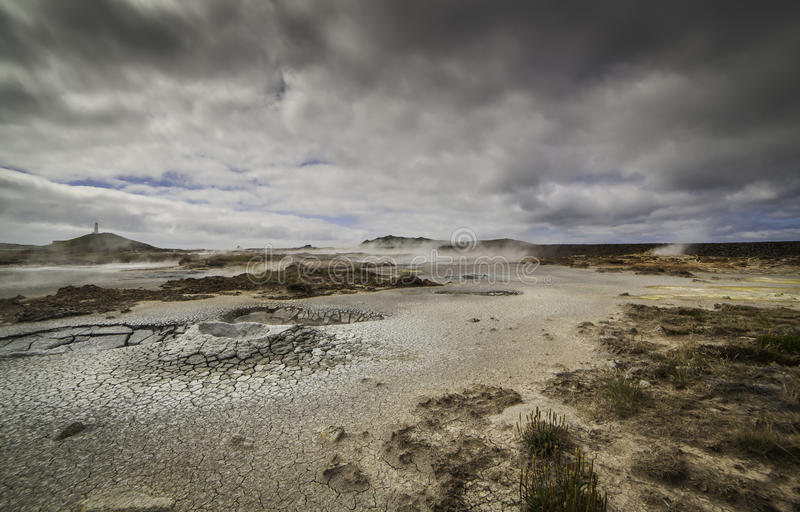 Geothermal Area royalty free stock photos