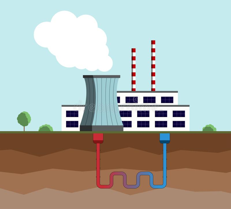 Geothermal Plant Stock Illustrations 924 Geothermal Plant Stock Illustrations Vectors Clipart Dreamstime