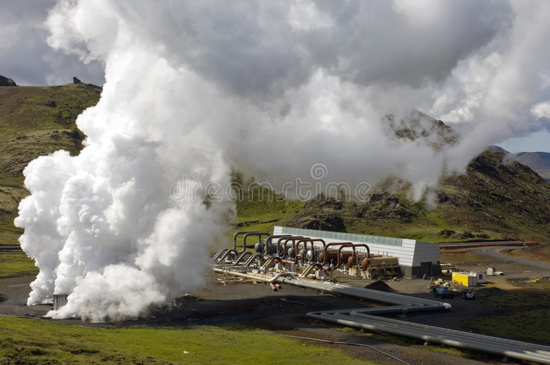 Download Geothermal heat plant stock photo. Image of environmental - 6126868