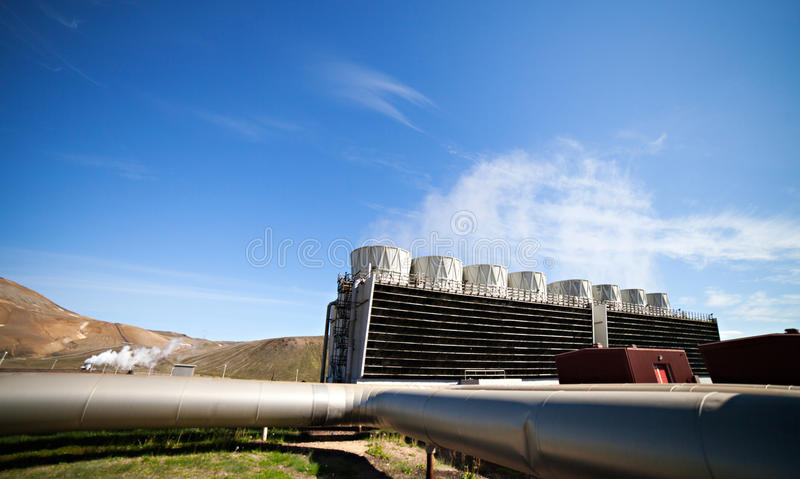 Geothermal Power royalty free stock photos