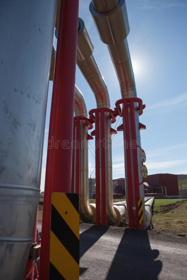 Geothermal Power stock image