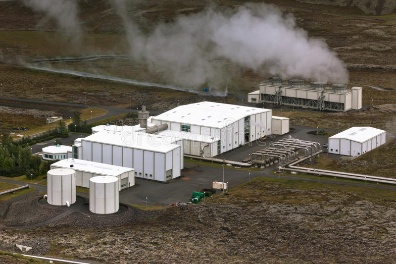 Download Geothermal Power Station In Iceland Stock Image - Image: 29854885