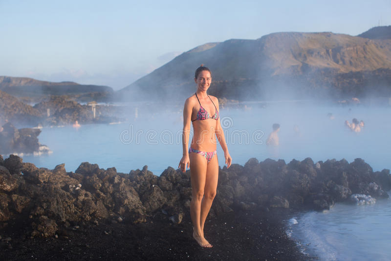 Geothermal Spa stock afbeeldingen