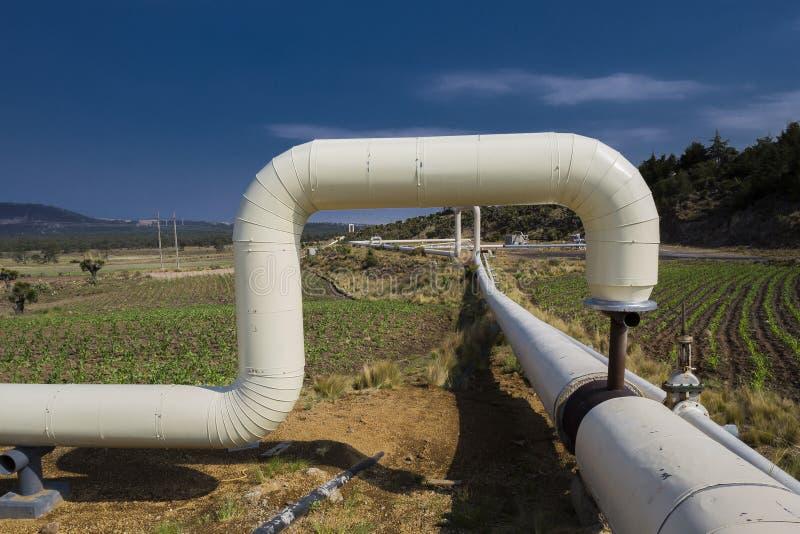 Geothermic Anlage in Puebla lizenzfreies stockfoto
