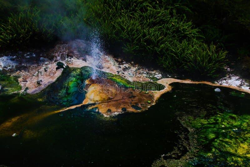 Geothermic Tal stockfoto