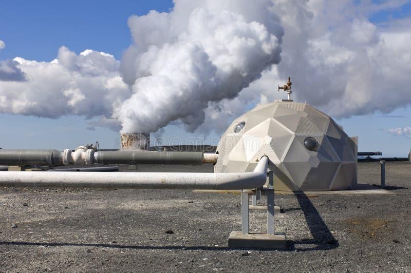 geothermical завод жары