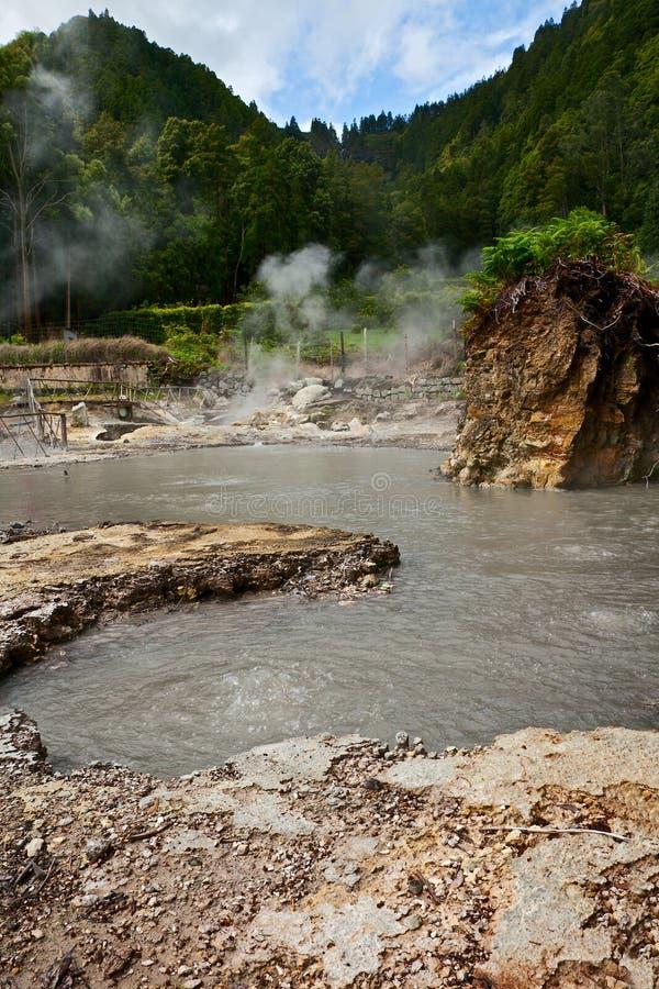 Geothermisch lizenzfreie stockbilder