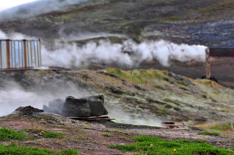 geothermisch stock foto's