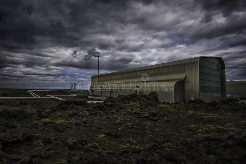 Geothermische energie stock foto's