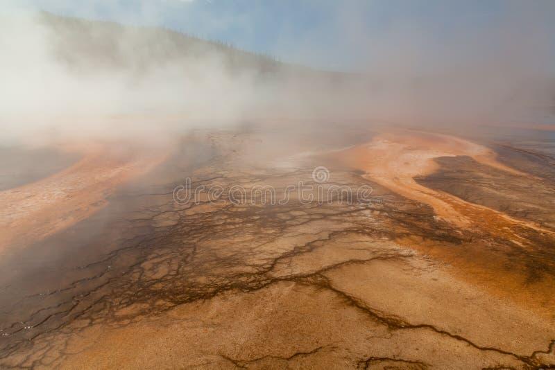 Geothermische heiße Quellen lizenzfreie stockfotos