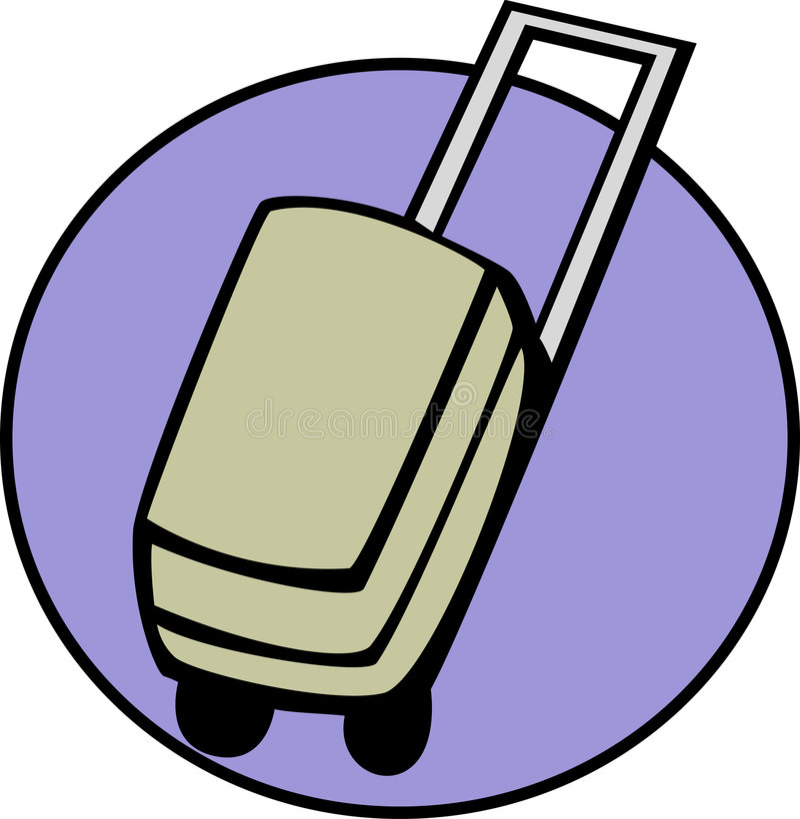 Gepäck stock abbildung