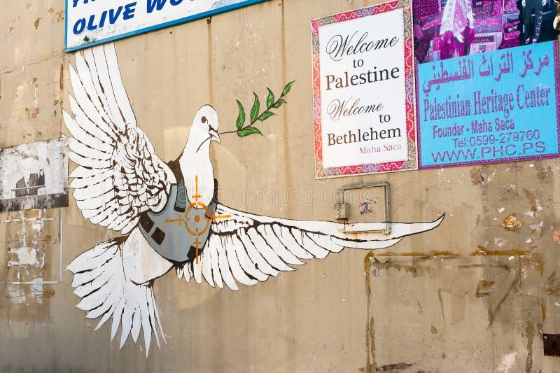 Gepanzerte Friedenstaube lizenzfreies stockbild