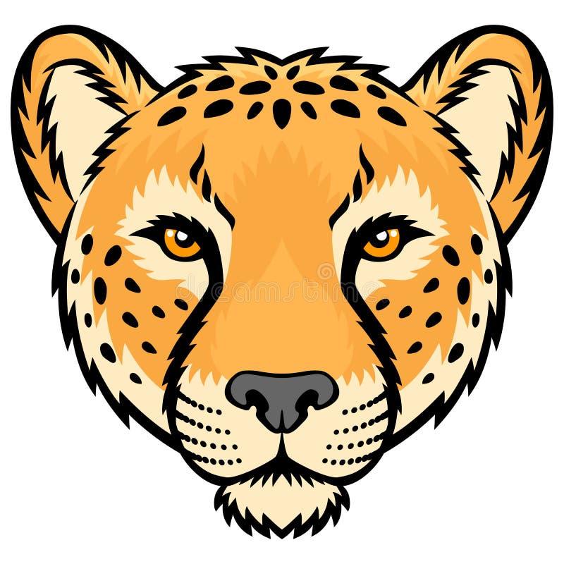 gepard royalty ilustracja