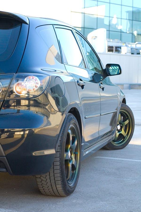 Geparkeerde Auto stock foto's