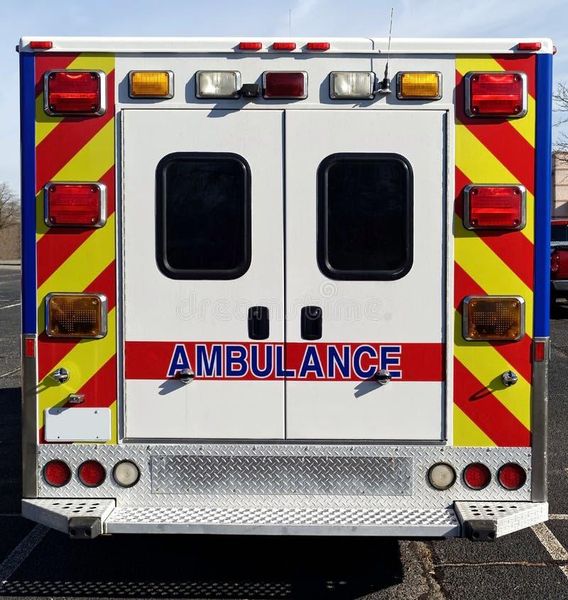 Geparkeerde Ziekenwagen stock afbeeldingen