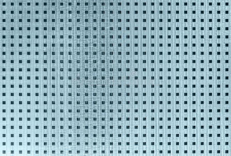 Geperforeerd industrieel metaal met vierkante gaten royalty-vrije stock foto's