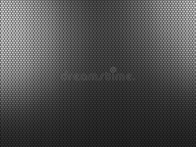 Geperforeerd metaal vector illustratie