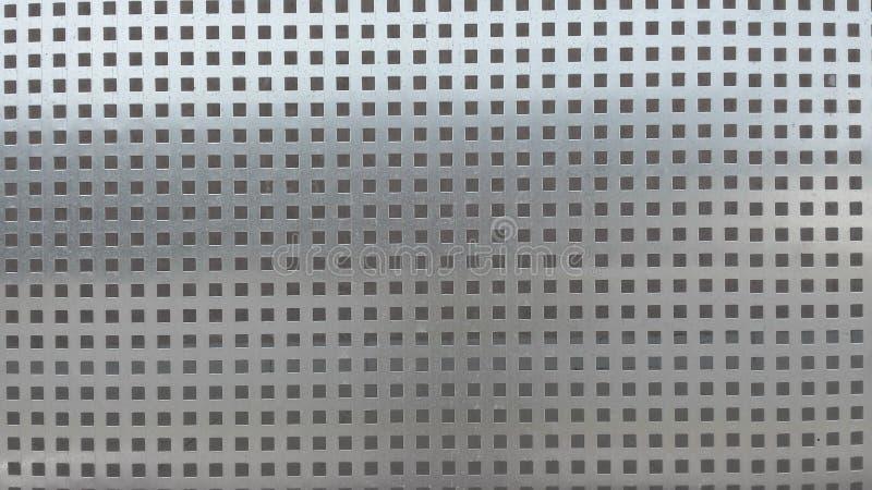 Geperforeerde metaaltextuur stock afbeelding