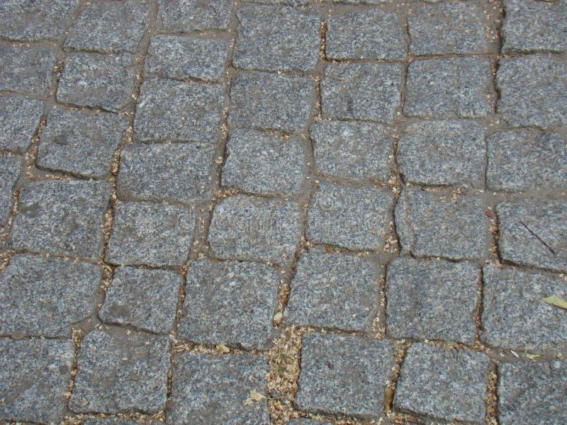 Gepflasterte Straße stockfotos