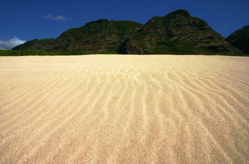 Geplätscherte Sand-Landschaft lizenzfreies stockbild