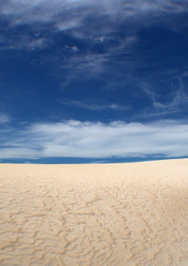 Geplätscherter Sand stockfoto