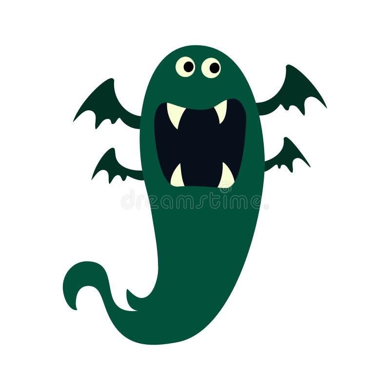 Geplaatste de monsters van het beeldverhaal Kleurrijk stuk speelgoed leuk monster Vectoreps 10 royalty-vrije illustratie