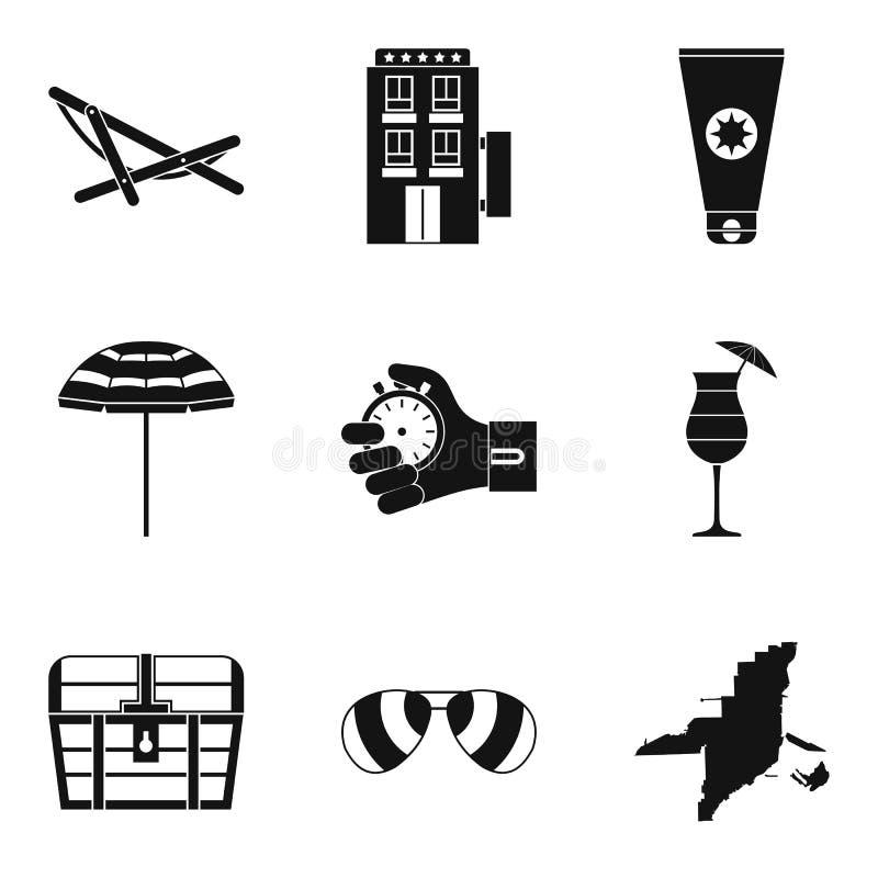 Download Geplaatste De Pictogrammen Van De Sportbenadering, Eenvoudige Stijl Vector Illustratie - Illustratie bestaande uit oceaan, kracht: 114226449
