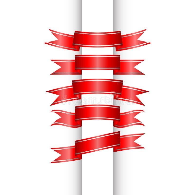 Download Geplaatste linten vector illustratie. Illustratie bestaande uit pasen - 39101437