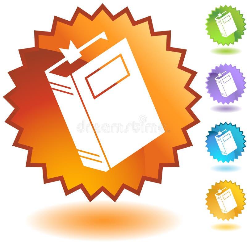 Geplaatste verbinding - Boek vector illustratie
