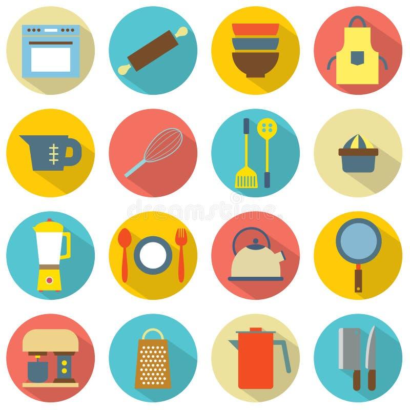 Gerät-Ikonen stock abbildung