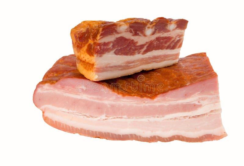 Geräuchertes Fleisch, Ausschnittspfad eingeschlossen lizenzfreie stockfotos