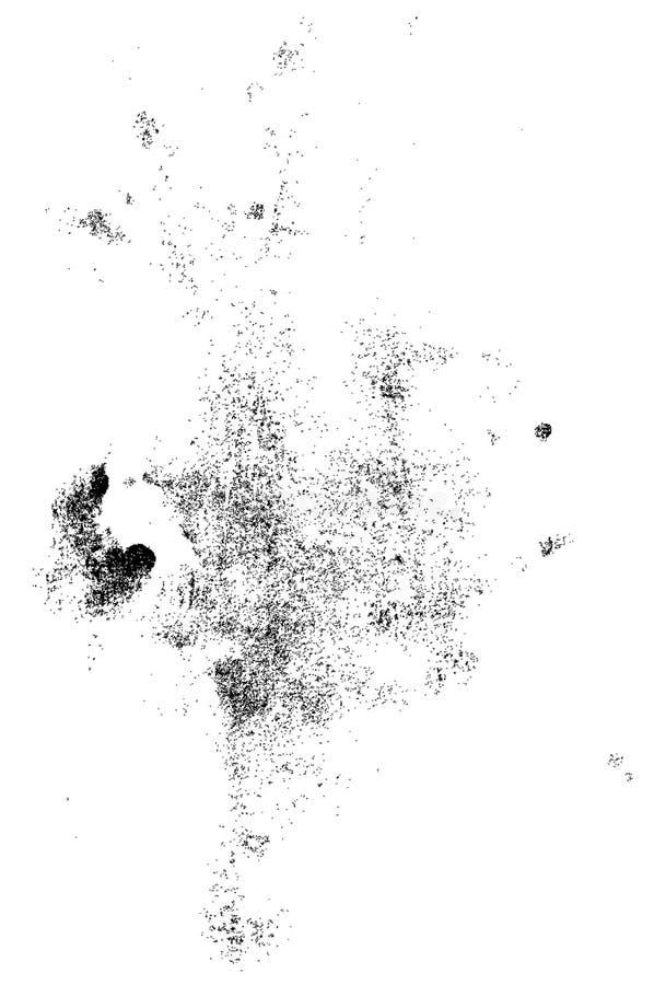 Geräusche und Dusty Texture lizenzfreie abbildung