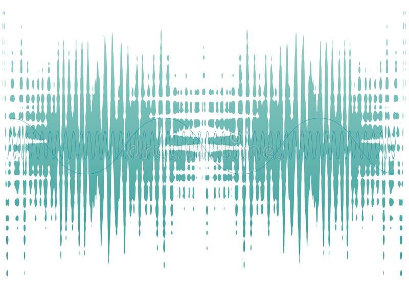 Geräuschwellen lizenzfreie abbildung
