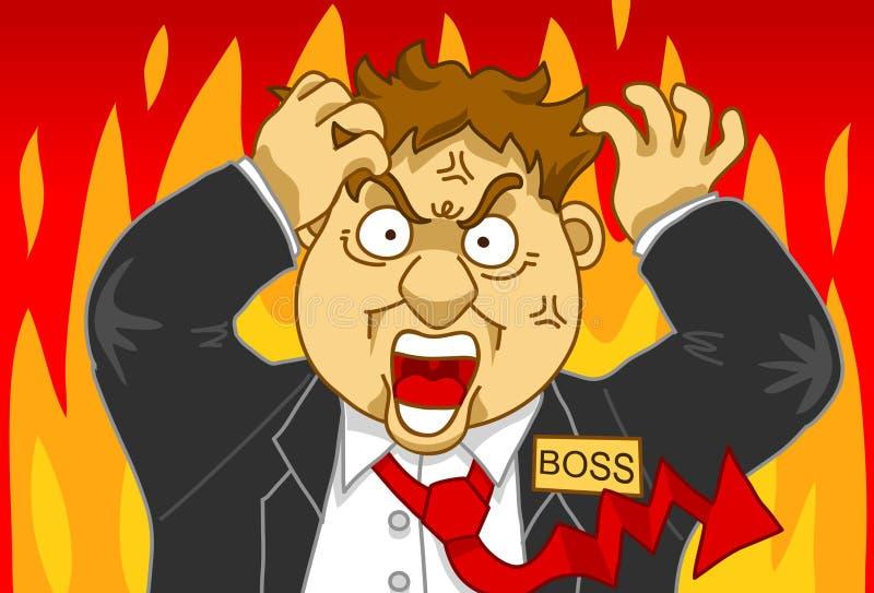 Gerência da raiva ilustração do vetor