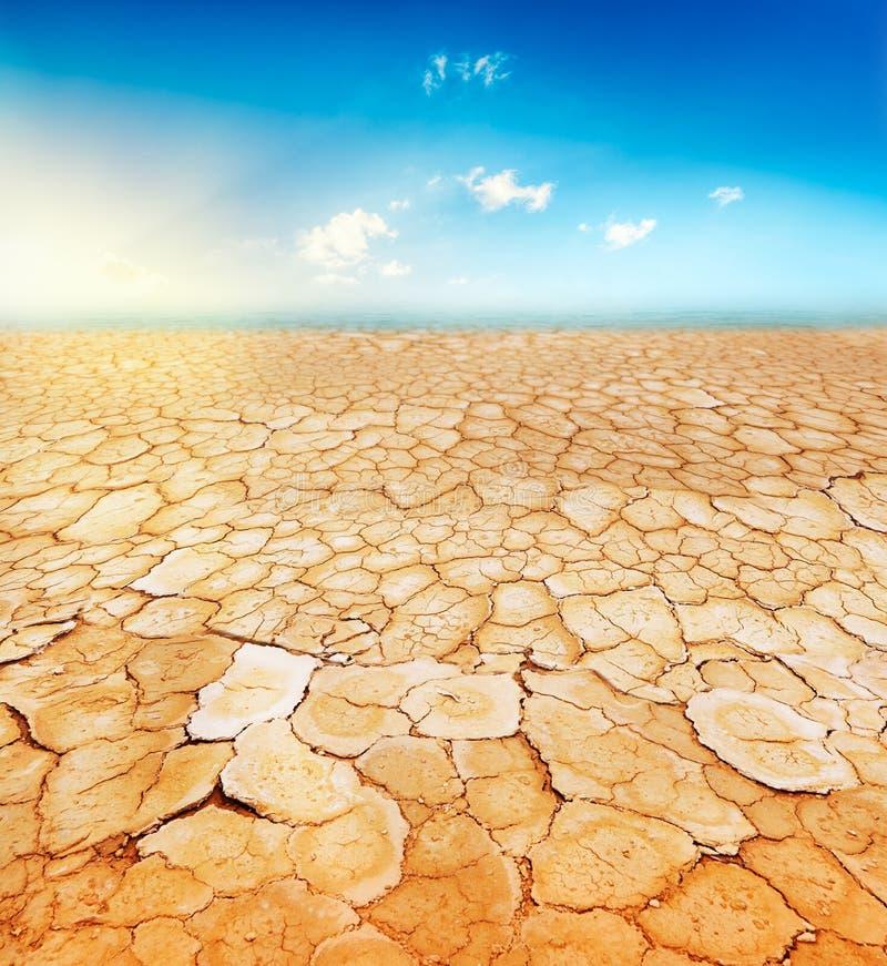 Geröstete Erde stockfotografie