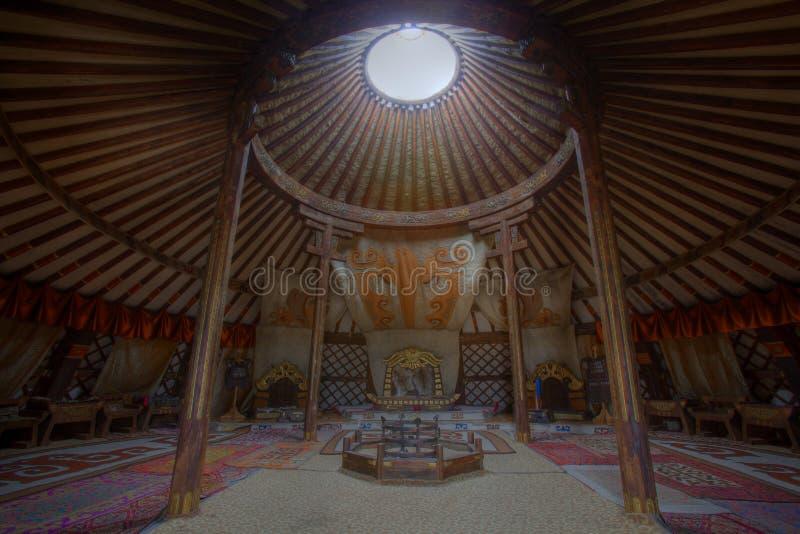 ger全部内部国王蒙古s 库存图片