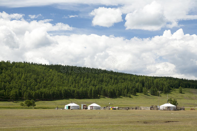 Download Ger Homes By Forest Stock Image - Image: 36744371