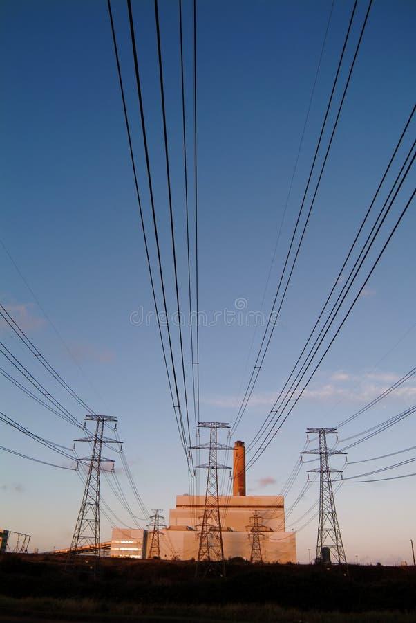 Geração da eletricidade foto de stock royalty free