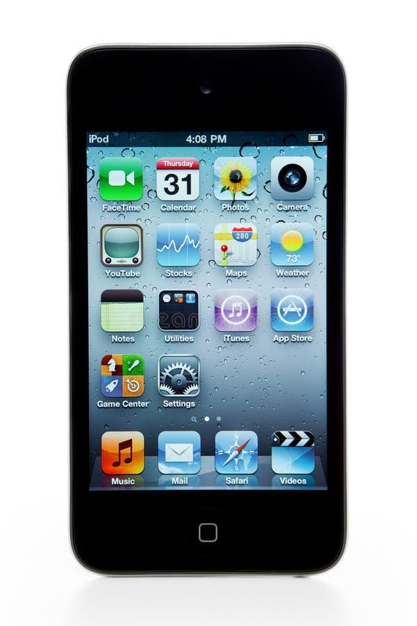 Geração do toque de Apple IPod ô imagens de stock royalty free