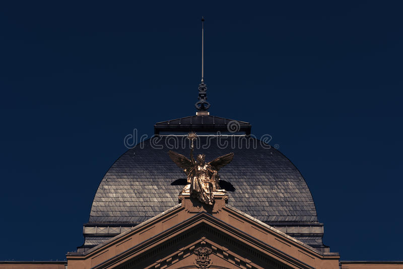 Gera. The princely theater building in the city of Gera stock photo