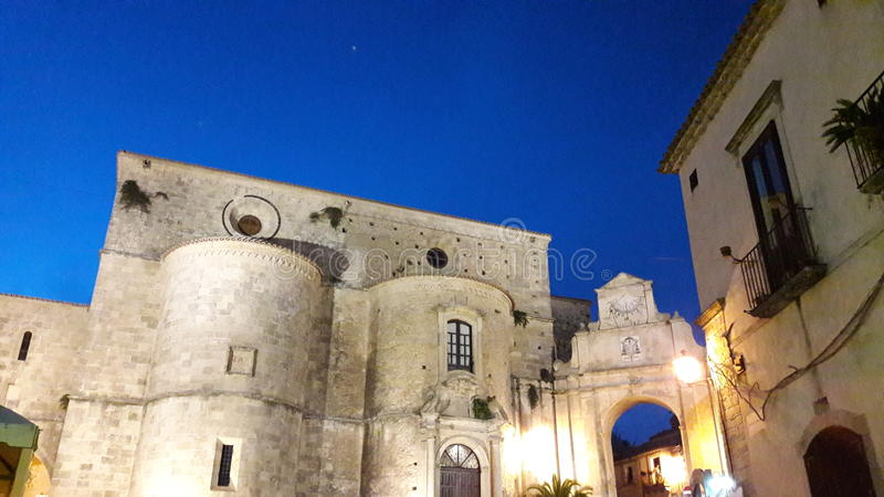 Gerace cathedral stock photos