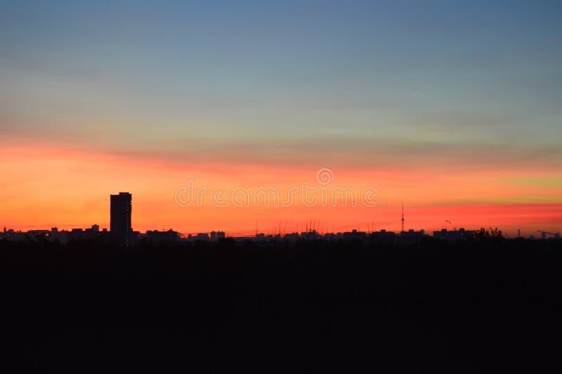 Gerade ein anderer schöner Sonnenuntergang lizenzfreies stockfoto