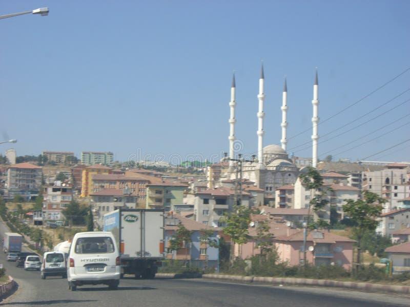 Gerade eine Moschee lizenzfreie stockfotografie
