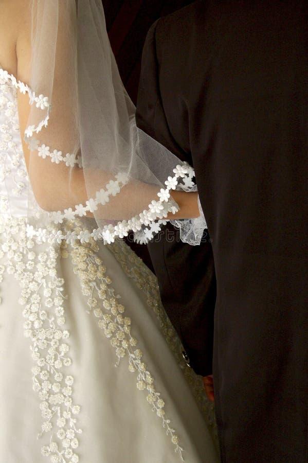 Gerade geheiratet lizenzfreie stockfotos