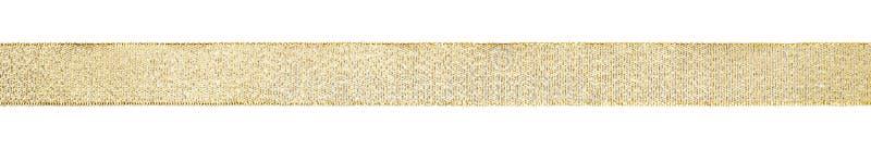 gerades goldenes Band stockbilder
