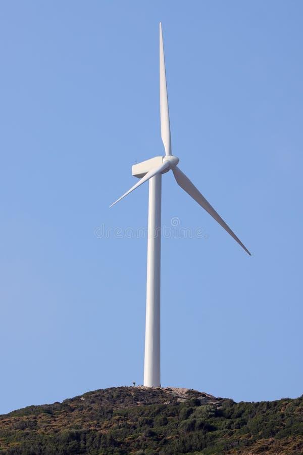 Gerador das energias eólicas foto de stock