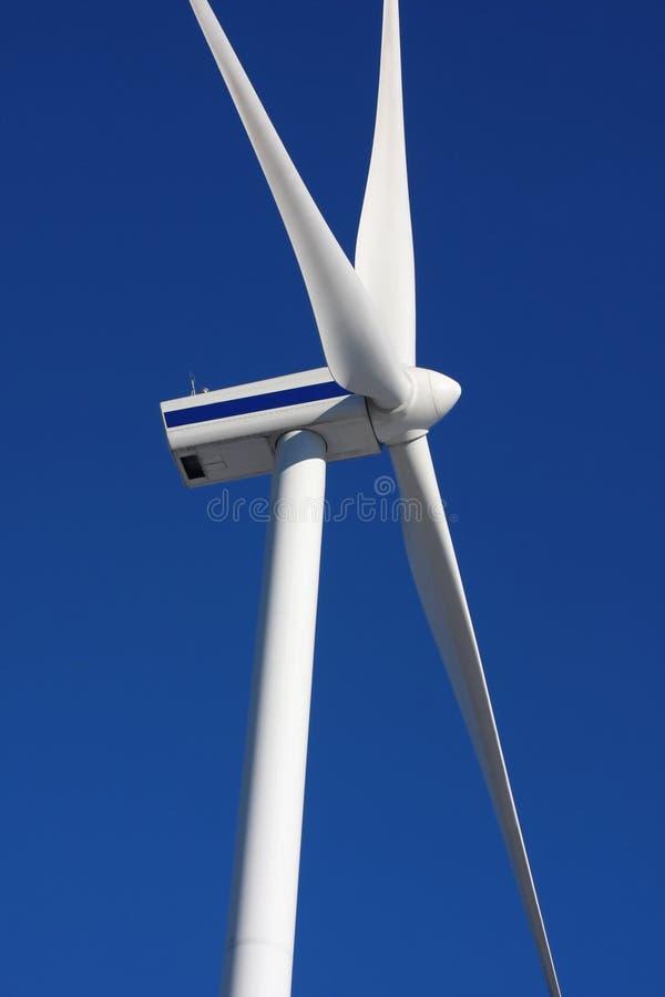 gerador de potência do moinho de vento fotografia de stock royalty free