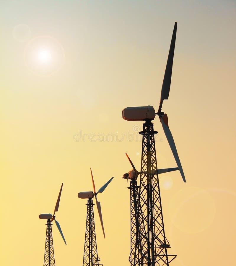 Gerador de vento fotografia de stock
