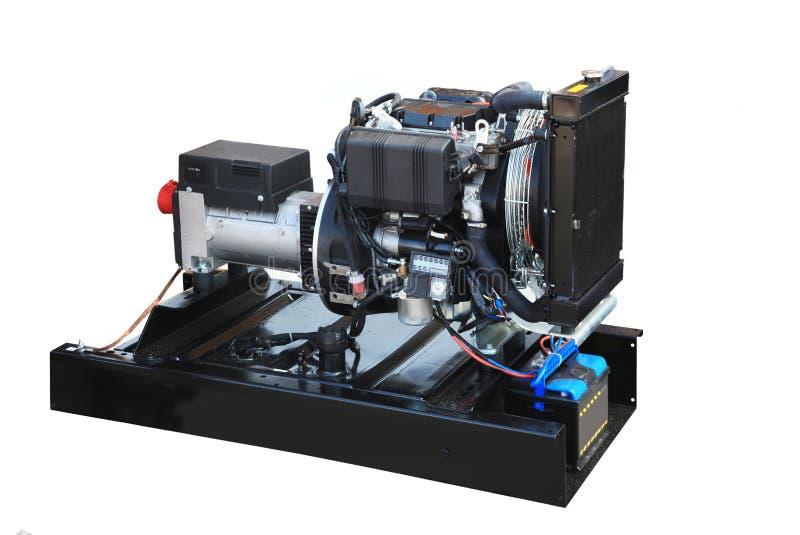 Gerador diesel imagem de stock